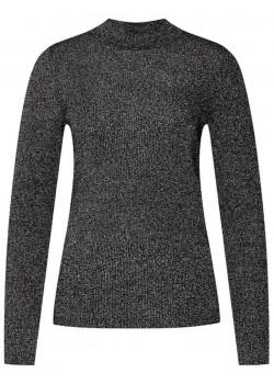 Dámsky čierno strieborný sveter Calvin Klein