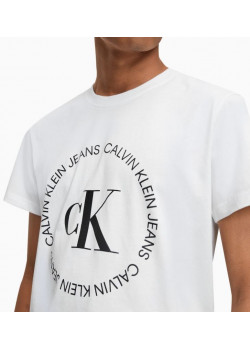 Calvin Klein pánske tričko Round Logo