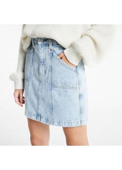Rifľová sukňa Tommy Jeans