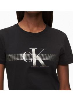Calvin Klein dámske tričko Black