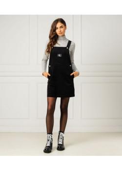Calvin Klein dámske menžestrové šaty Black