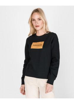 Calvin Klein dámska mikina Black/Gold