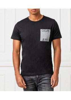 Calvin Klein  pánske tričko Pocket black