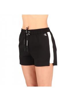 Calvin Klein dámske šortky logo CK black