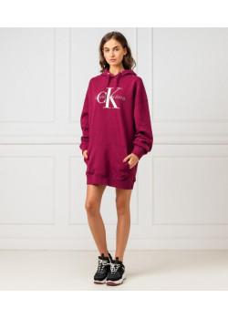 Calvin Klein Jeans dámska mikina Beet red