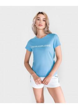 Calvin Klein Jeans dámske tričko Alaskan Blue