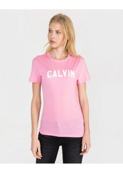 Calvin Klein dámske tričko Pink/Bright White