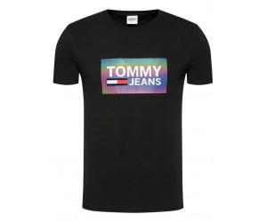 Pánske tričko Tommy Hilfiger TH DM0DM09480/BDS/black