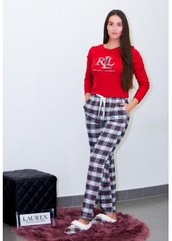 Ralph Lauren dámske pyžamo s logom