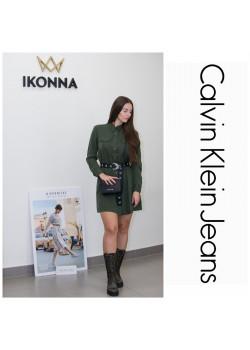 Košeľové šaty Calvin Klein