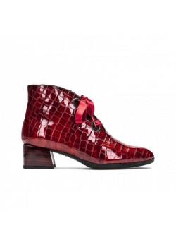 Dámske členkové topánky Hispanitas bordové