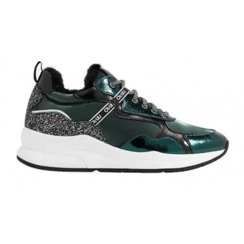 Zateplené sneakersy LIU-JO green