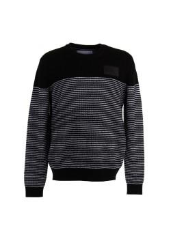 Pánsky pulóver Calvin Klein pásikavý