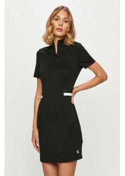 Dámske šaty Calvin Klein so stojačikom