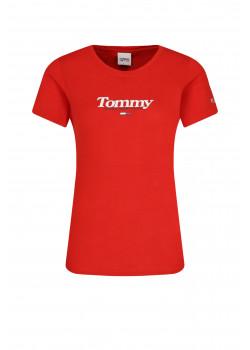 Dámske tričko Tommy Hilfiger Crimson