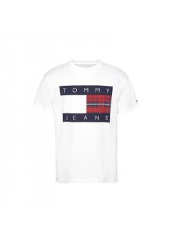 Pánske biele tričko Tommy Hilfiger