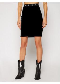 Dámska čierna slim fit sukňa Calvin Klein
