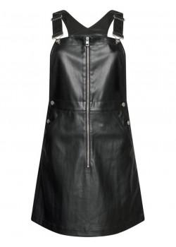 Dámske kožené šaty Calvin Klein