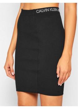 Dámska čierna sukňa Calvin Klein