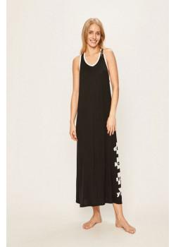 Dámske maxi šaty DKNY čierne