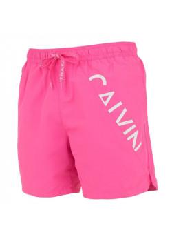 Calvin Klein pánske plavky Neon Pink
