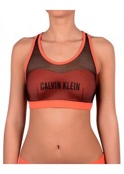Calvin Klein dámska plavková podprsenka Orange