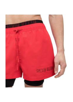 Calvin Klein pánske plavky Red