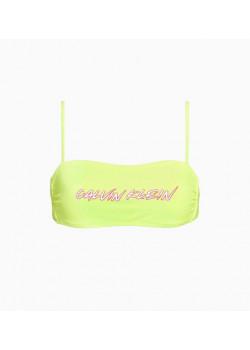 Calvin Klein dámska plavková podprsenka Safety Yellow
