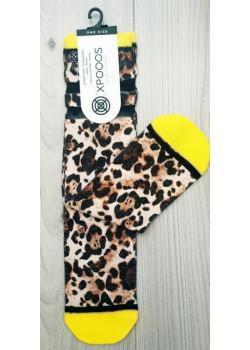 XPOOOS dámske ponožky vzor Tiger