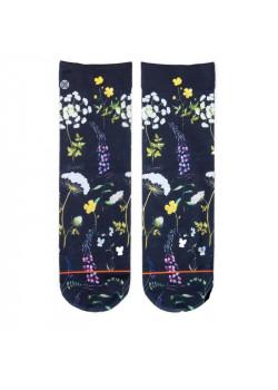 XPOOOS dámske ponožky vzor kvety