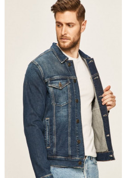 Tommy Jeans - pánska rifľová bunda Devi