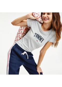 Tommy Jeans - dámske tričko TOMMY grey