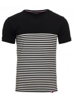 Tommy Hilfiger pánske tričko black&white