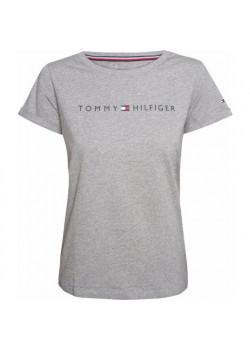 Dámske sivé tričko Tommy Hilfiger