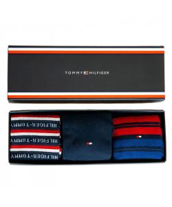 Pánske ponožky 3 páry Tommy Hilfiger 43/46 v darčekovom balení
