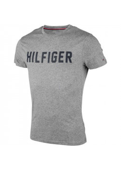 Pánske tričko Tommy Hilfiger sivé