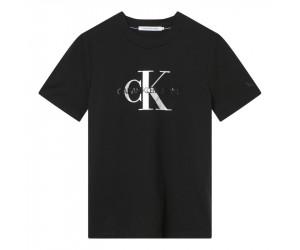 Dámske tričko Calvin Klein s metalickým logom
