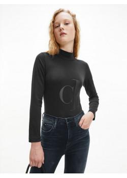 Dámske body Calvin Klein čierne