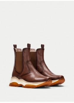 Hispanitas členkové topánky hnedé