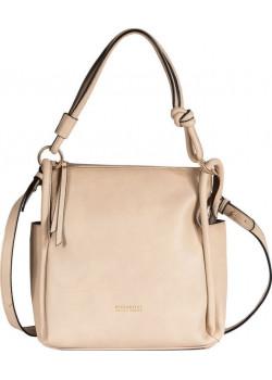 Béžová dámska kabelka od značky Hispanitas