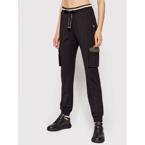 Liu Jo teplákové nohavice čierne