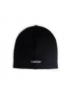 Čierna vlnená čiapka Calvin Klein
