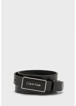 Calvin Klein opasok čiernej farby