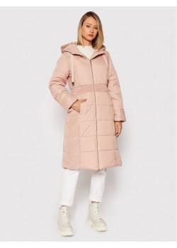Dámsky kabátik v ružovom prevedení