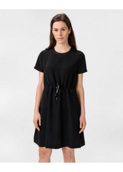 čierne šaty Calvin Klein