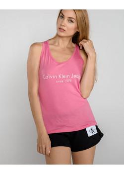Dámske ružové tielko Calvin Klein