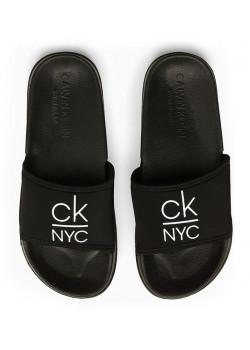 Šľapky Calvin Klein čierne